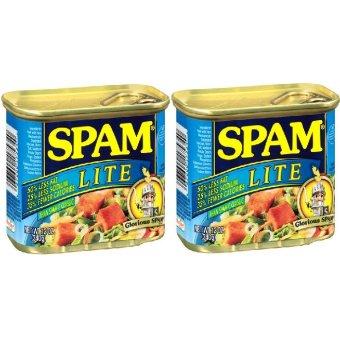 Spam Lite Luncheon Loaf Set of 2