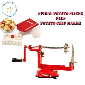 SPIRAL POTATO SLICER And Potato Chip Maker