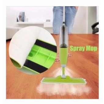 Spray Mop with Microfiber Mop Set Floor Cleaning (Green) - 2