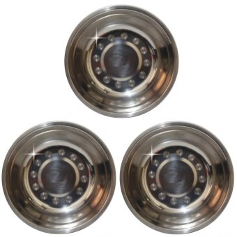 Stainless feeding bowl set of 3