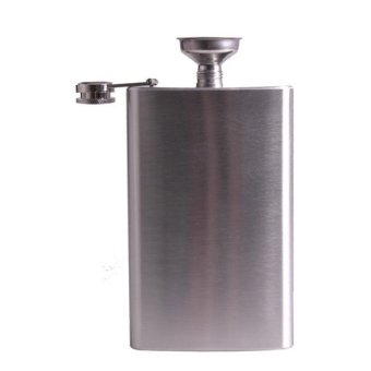 Stainless Steel 10oz Alcohol Flask