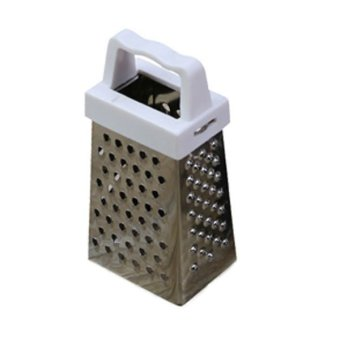 Stainless Steel 4 Sided Grater Cheese, Potatoes, Carrots FineMedium Coarse