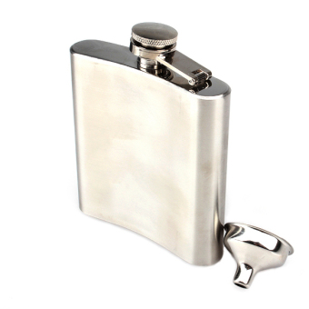 Stainless Steel 6OZ Hip Alcohol Whiskey Liquor Flask