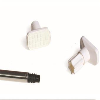Stainless Steel Adjustable Tension Door Bathroom Shower CurtainPole Rod - 2