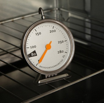 Stainless Steel Baking Tools Kitchen Oven Thermometer Food MeatDial Oven Dedicated Mechanical Baking Thermometer HT014