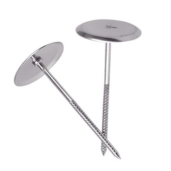 Stainless Steel Cake Cupcake Icing Cream Decorating Flower NailNeedle Tools 5 Pcs