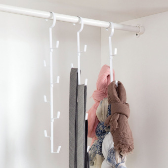 Stainless steel clothes rack hanger hangers closet hook rack