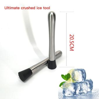 Stainless Steel Cocktail Ice Muddler Crusher Masher Bar DrinksMixer Utensil - intl Price Philippines