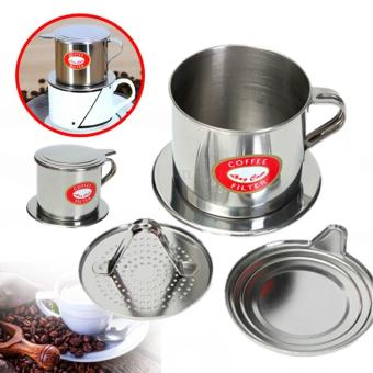Stainless Steel Coffee Drip Filter Cup Maker Infuser Handle - intl