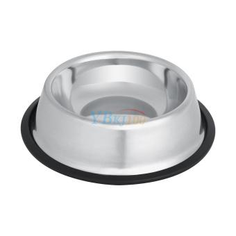 Stainless Steel Dog Pet Food Water Bowl water Dish (16cm) - intl - 4