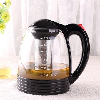Stainless steel filter tea pot heat-resistant teapot