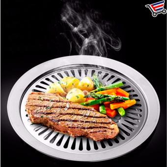 Stainless Steel Indoor Smokeless BBQ Grill - 2