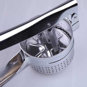 Stainless Steel Potato Masher Ricer Puree Vegetable Fruit PressMaker - 3