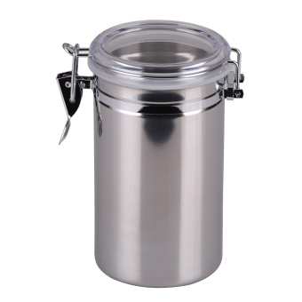 Stainless Steel Sealed Canister Jar Home Kitchen(L) (Intl)