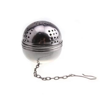 Stainless Steel Teakettles Infuser Strainer Egg Shaped Tea Locking Spice Ball