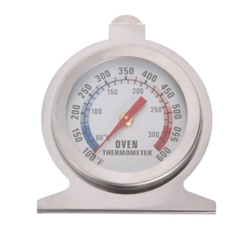 Stainless Steel Temperature Oven Thermometer Gauge Kitchen Food (White) - intl