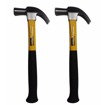 Stanley Claw Hammer with Fiber Glass Handle (2pcs)