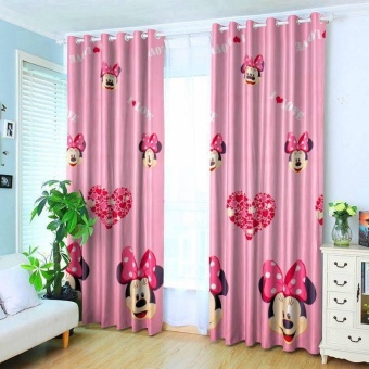 StevenShop 2pcs Animated Minnie Mouse Design with round rigs