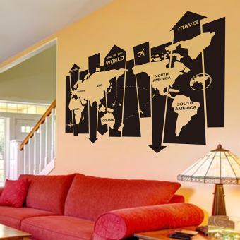 Philippines sticker library office wall decoration world map wall philippines sticker library office wall decoration world map wall adhesive paper price comparison gumiabroncs Image collections