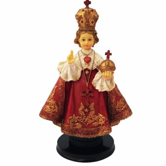 Sto Nino RED 27 CM (Jesus Christ) Religious Item (Made ofFiberglass Resin) by Everything About Santa (Christmas decorationand gift suggestion)