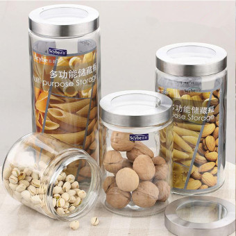 Storage bottle dried fruit jar glass sealed cans