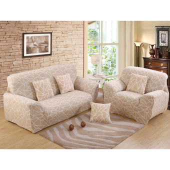Stretch Chair Loveseat Sofa Cover 3 Seats Protector Couch SlipcoverDecor