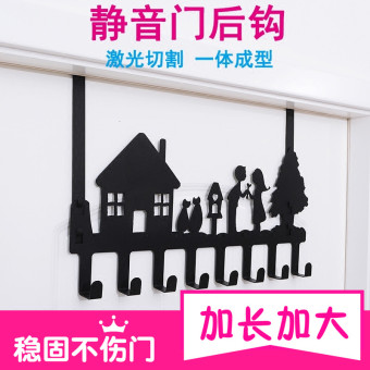 Strong traceless hanger door back clothes hook coat hook