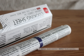 Style baking greaseproof paper newspaper
