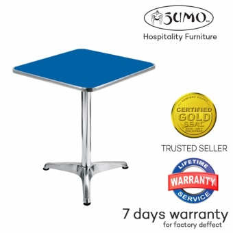 Sumo AT-60S BLU Top Aluminum Square Pantry Table (Blue) Price Philippines