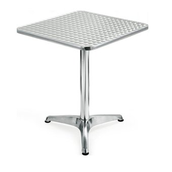 Sumo AT-60S Stainless Steel Top Aluminum Square Pantry Table(Silver) - 3