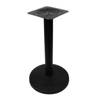 Sumo TS-43R BLK Commercial Blackened Steel Table Stand (Black)