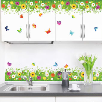 Sunflower Kitchen Removable Wall Sticker Window Home Decor Decal Mural Art