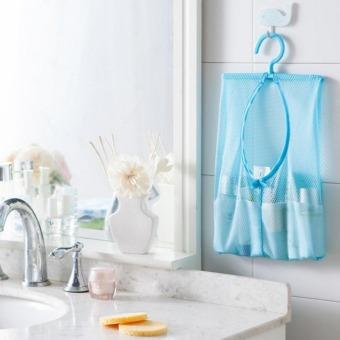 Sunshine Hanging Mesh Storage Laundry,Bathroom,Kitchen Organizerset of 2 - 2