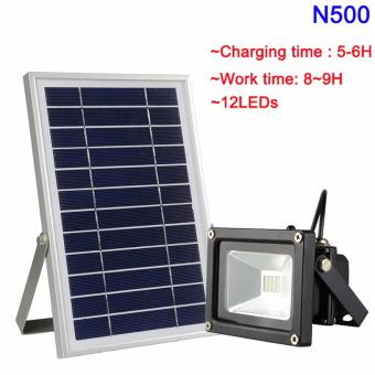 Super Bright 12LED Solar Flood Lights Outdoor waterproof Street Lamp N500 - intl