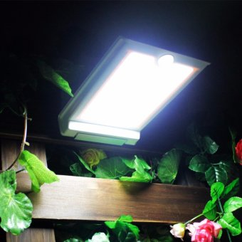 Super Bright 46 LED Outdoor Solar Lights Power Light With PIRMotion Sensor Security Waterproof Solar Lamp For Garden Street -intl
