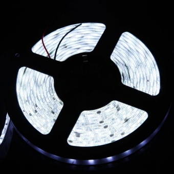 Super Bright 5630 Led Strip Light Lamp Cool White 5M 300LedsFlexible SMD 12V - intl