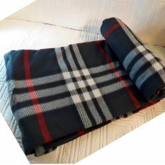 super soft old navy checkered design micro fleece blanket green and red - Fleece Throws