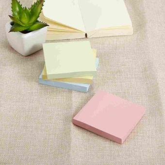 Super Sticky Post It Full Adhesive Notes Assorted Square NotesBright Colors - intl - 5