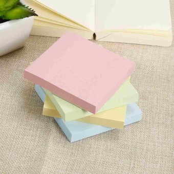 Super Sticky Post It Full Adhesive Notes Assorted Square NotesBright Colors - intl - 4