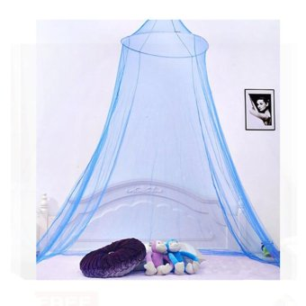 Suspended Ceiling Lace Mosquito Net (Blue)