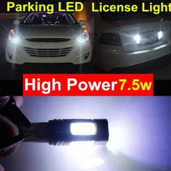 T10 7.5 W LED car light xenon bulb wedge 194 168 192 W5W lamp - intl