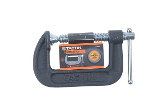Tactix C-Clamp 75mm (Black) Price Philippines