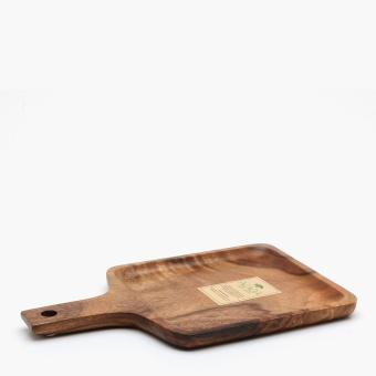 Tahanan by Kultura Acacia Square Serving Plate