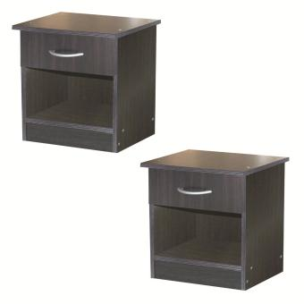 Tailee #2301 Side Table with Drawer (Wenge) Buy 1 Take 1