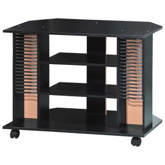Tailee Furniture #1808 4-Layer Open Type TV Rack / TV Stand with CD Rack (Wenge)