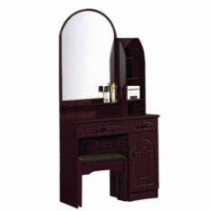 Tailee Furniture Dt 500 Dressing Table With Stool And Mirror Wenge