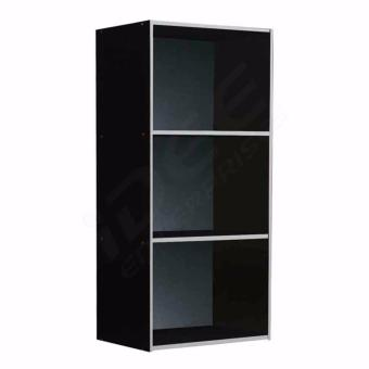 Tailee Furniture ST 300BF 3 Layer Utility Cabinet Organizer Black