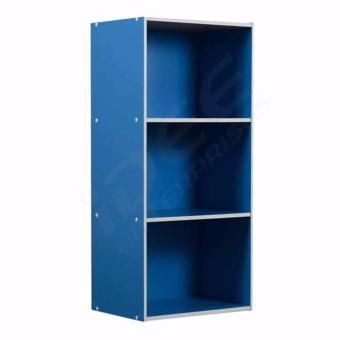 Tailee Furniture ST-300BF 3-Layer Utility Cabinet Organizer (Blue)