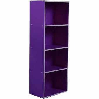 Tailee Furniture ST-400BF 4-Layer Utility Cabinet Organizer(Purple)