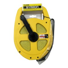 tajima symronl tape measure 50m165ft 13mm12in blade size yellowwhite tape